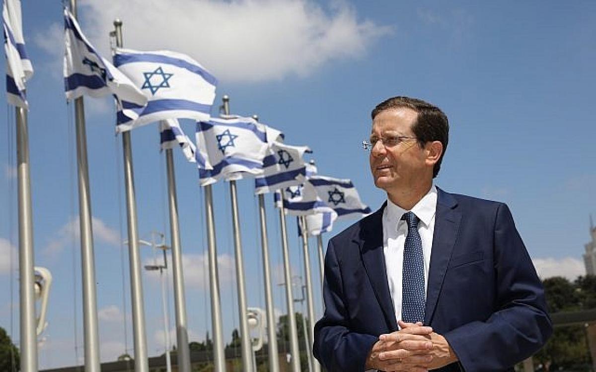 Tổng thống mới của Israel ông Isaac Herzog - Ảnh timesofisrael