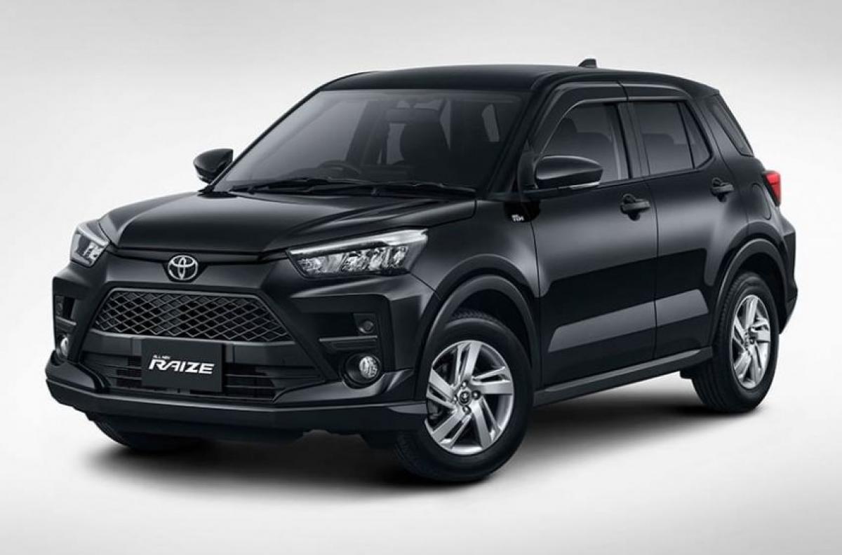 Toyota Raize với ngoại hình mạnh mẽ.