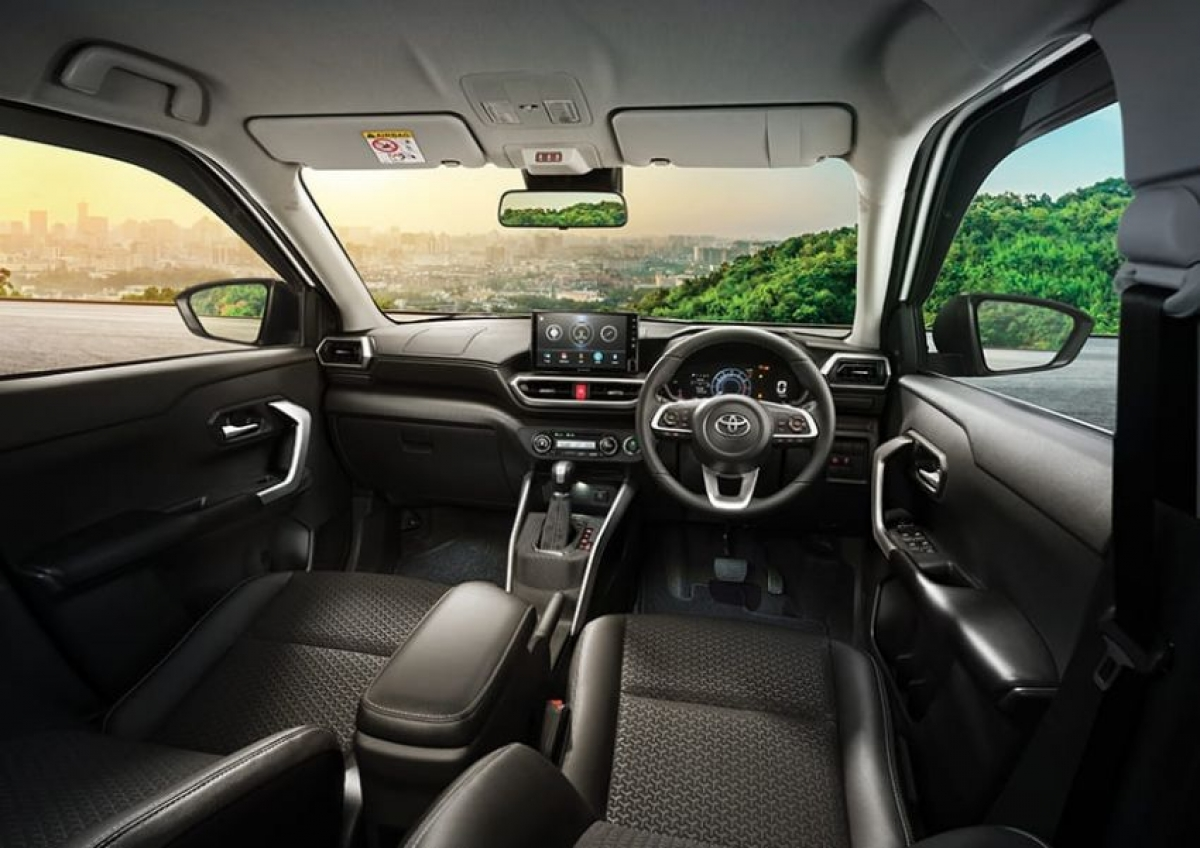 Khoang nội thất của Toyota Raize.