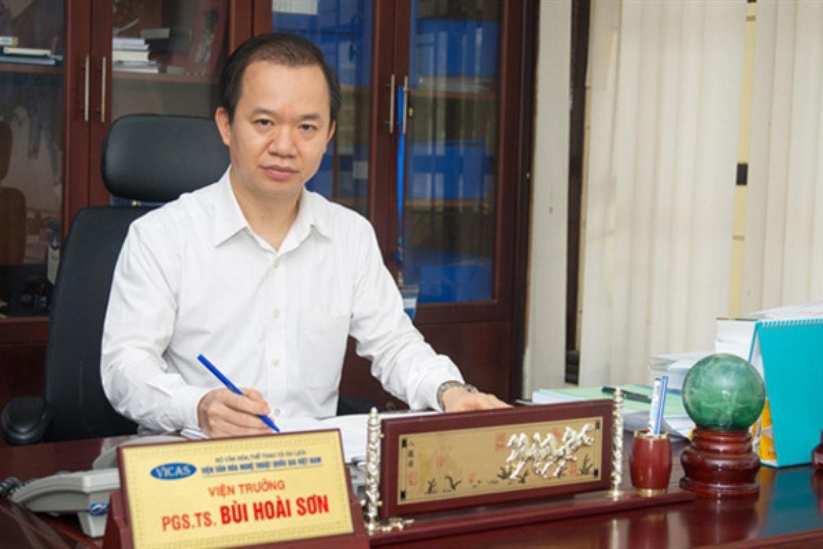 PGS.TS Bùi Hoài Sơn, Viện Văn hóa Nghệ thuật quốc gia Việt Nam.