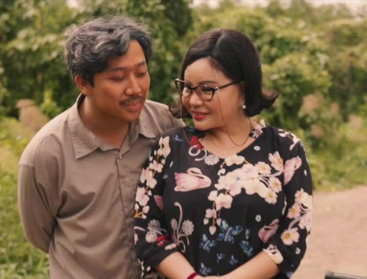 """Diễn viên Lê Giang thừa nhận phẫu thuật thẩm mỹ. Nữ diễn viên trong phim điện ảnh""""Bố già"""". (Ảnh: TL)"""