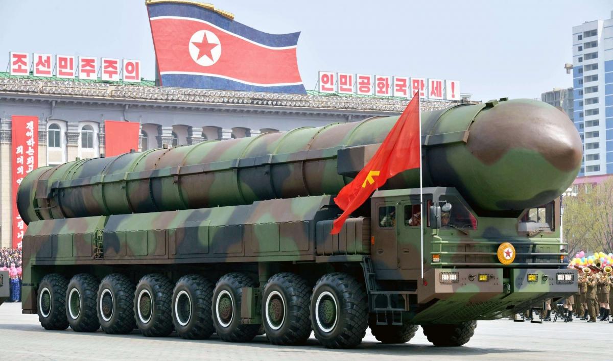 Triều Tiên đứng số 1 thế giới về chi tiêu quân sự trên phần trăm GDP. Ảnh: KT