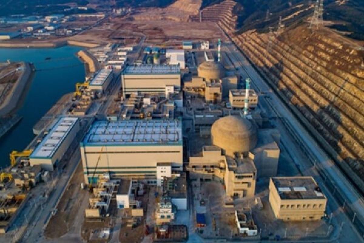 Nhà máy điện hạt nhân Đài Sơn, Trung Quốc. Ảnh: Wikipedia.