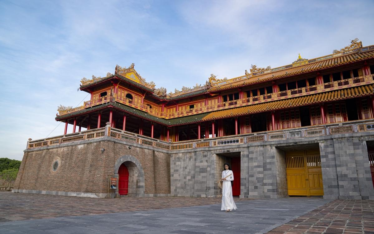 Dù đã đến Huế rất nhiều dịp, nhưng với Trương Thị May, mỗi chuyến đi là một kỉ niệm và có thêm một cơ hội khám phá vẻ đẹp của nơi đây.