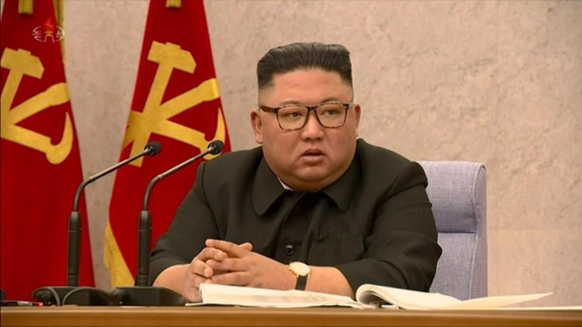 Nhà lãnh đạo Triều Tiên Kim Jong Un. Ảnh: KCNA