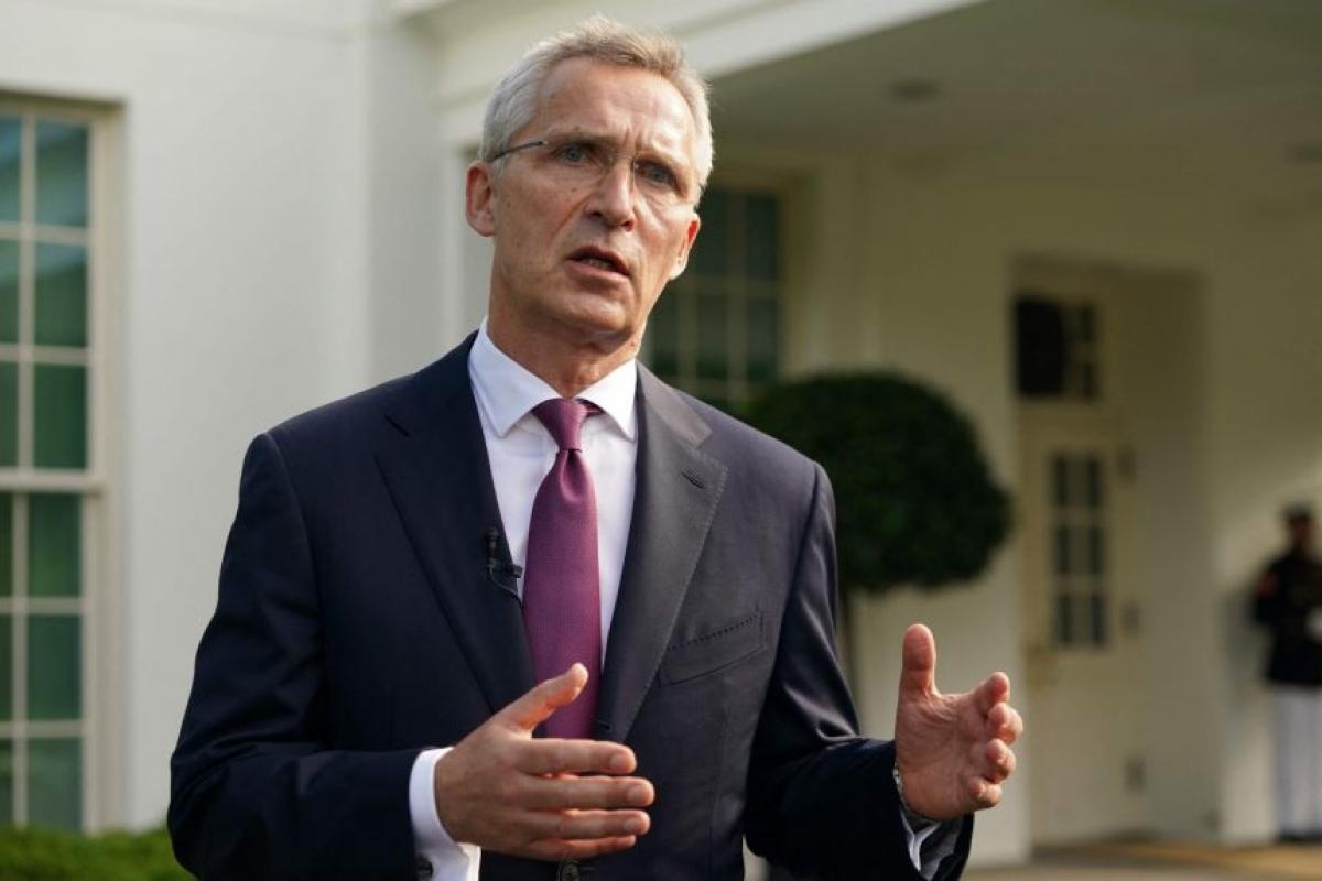 Tổng Thư ký NATO Jens Stoltenberg. Ảnh: AFP