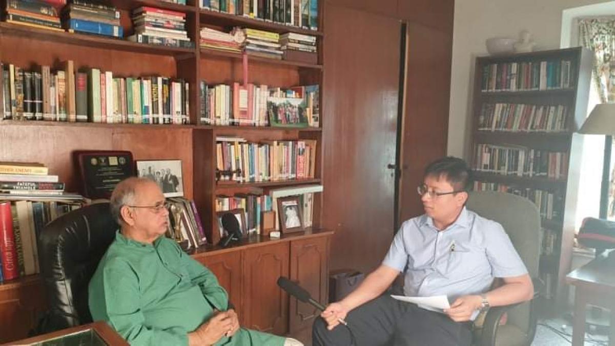 Nhà báo Phan Tùng - Thường trú VOV tại Ấn Độ