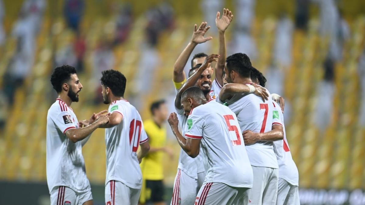 UAE thắng thuyết phục Thái Lan (Ảnh: AFC).