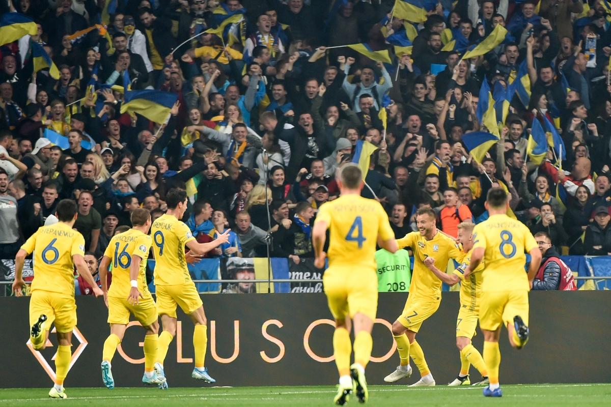 Ukraine đứng đầu ở vòng loại và hứa hẹn tạo ra bất ngờ tại EURO 2021. (Ảnh: Getty)