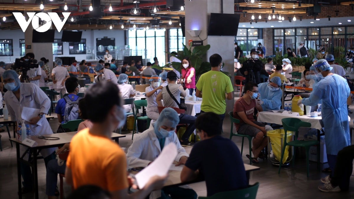 HCM City, the country's second worst hit locality by COVID-19, has launched the largest ever vaccination campaign in order to halt the spread of the virus, and workers in export processing zones and economic zones are primary targets of this campaign.