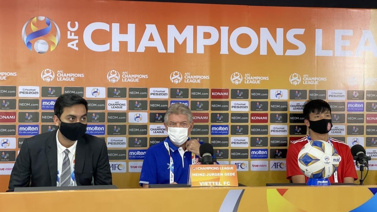 HLV Jurgen Gede tự tin trước trận ra quân ở AFC Champions League 2021.