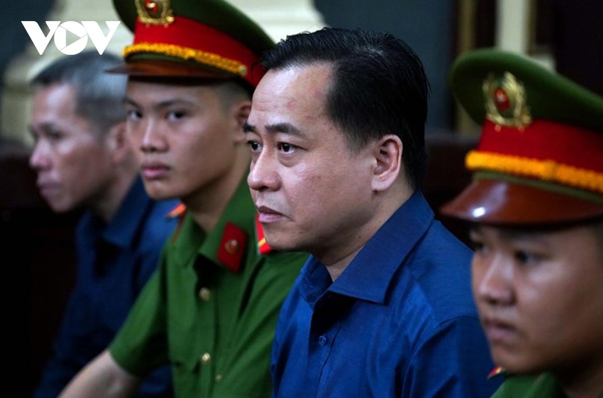 Bị cáo Phan Văn Anh Vũ trong một phiên xét xử.