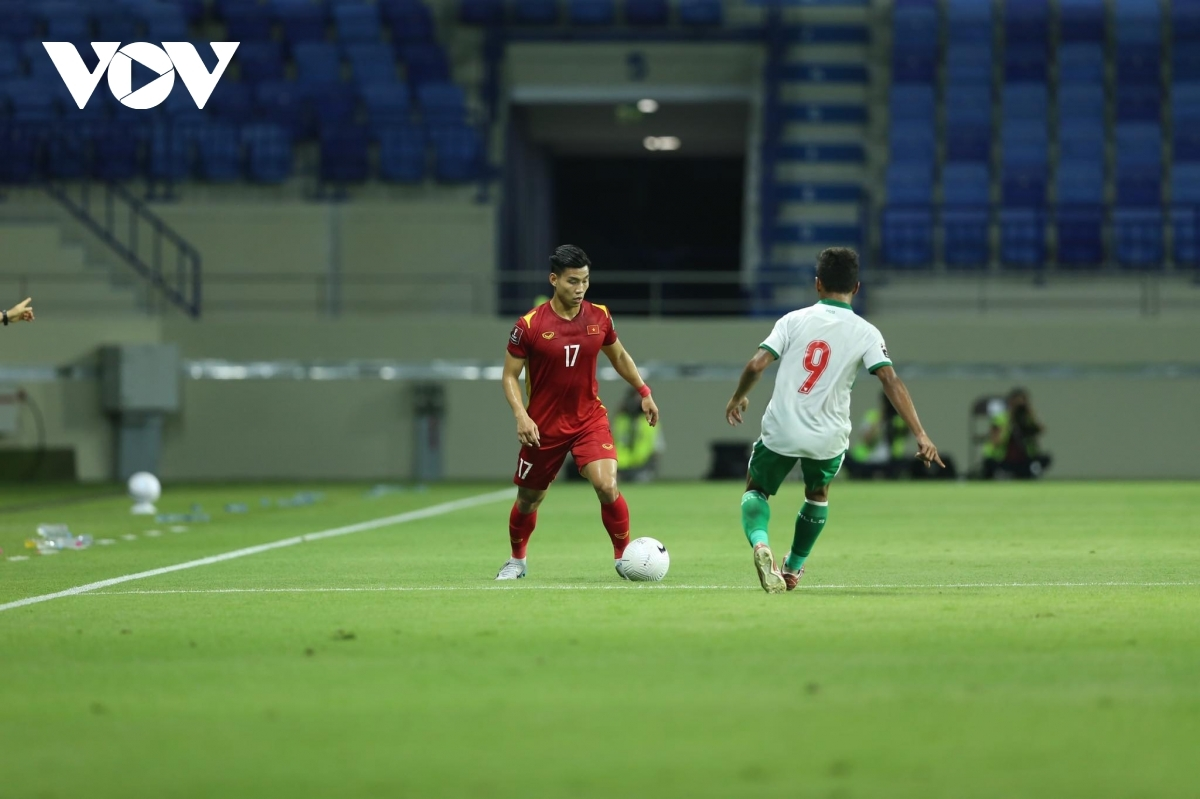 Cong Phuong and Van Thanh complete the scoring, with the game ultimately finishing 4-0 in favour of the Vietnamese team.