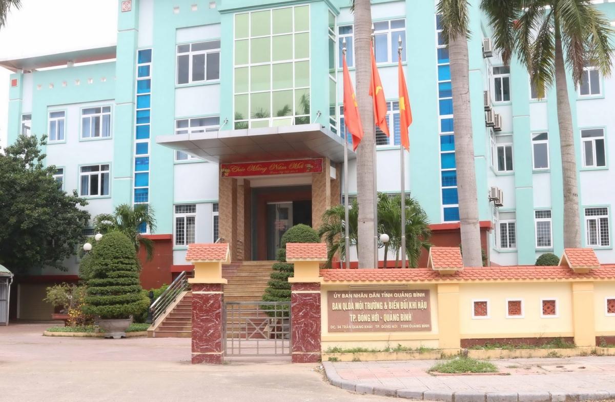 Ban Quản lý dự án Môi trường và Biến đổi khí hậu thành phố Đồng Hới.