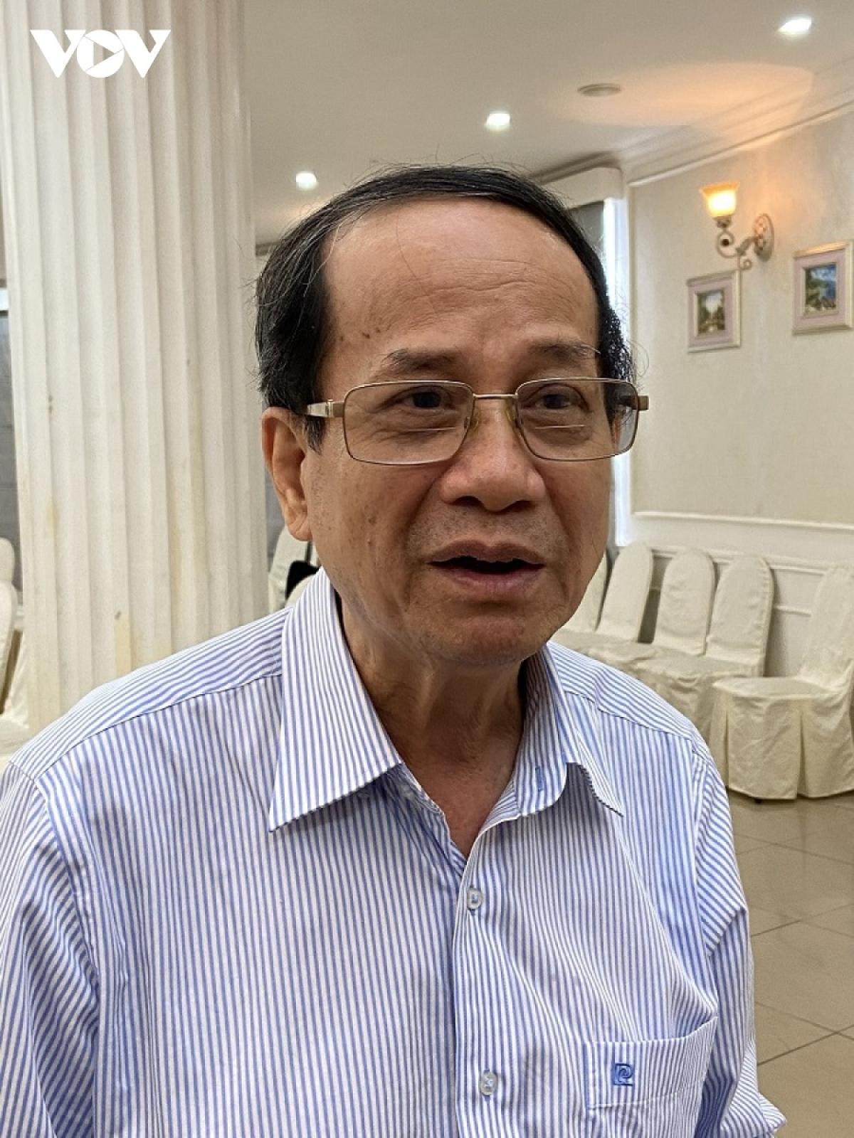 PGS. TS. Ngô Trí Long, chuyên gia kinh tế