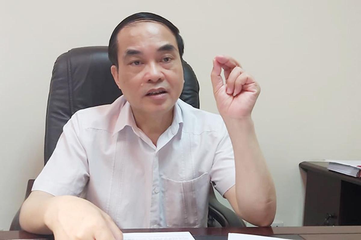 PGS.TS Vũ Văn Phúc (Ảnh: Vietnamnet)