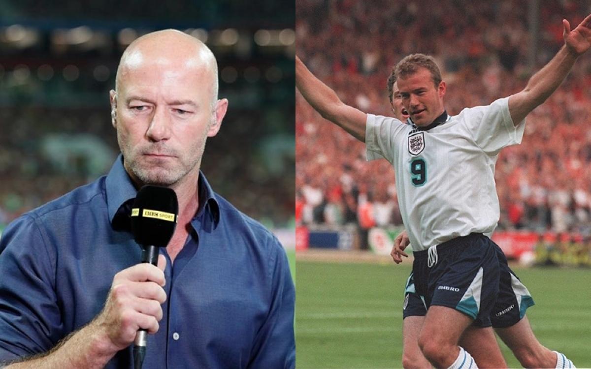 Alan Shearer từng giành ngôi Vua phá lưới EURO 1996. (Ảnh: Daily Mail)