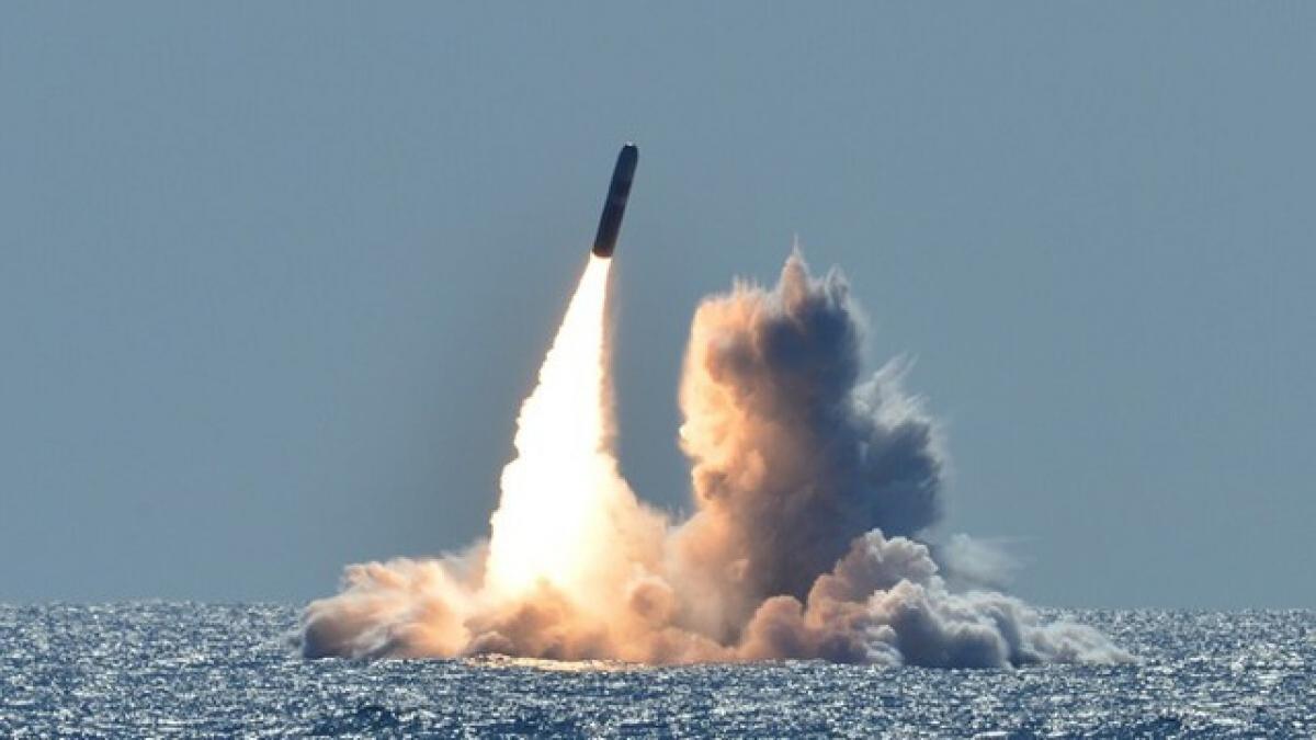 Mỹ hiện vẫn là cường quốc về vũ khí hạt nhân (Ảnh minh họa: Hải quân Mỹ).