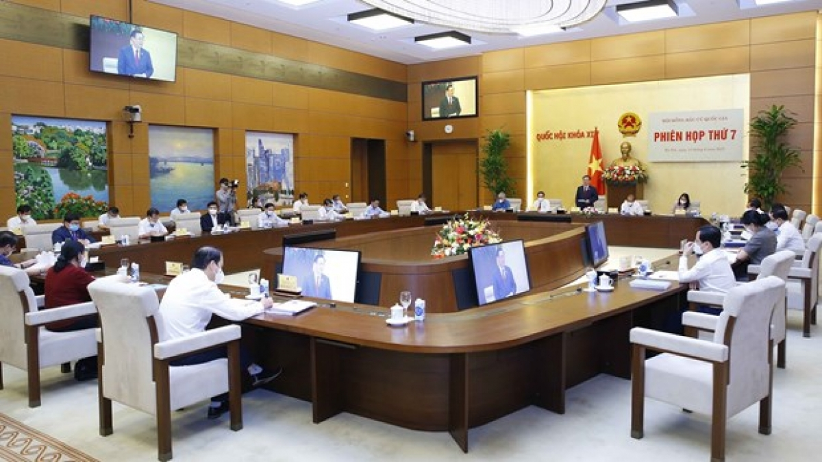 Seventh meeting ofNational Election Council(Photo: VNA)