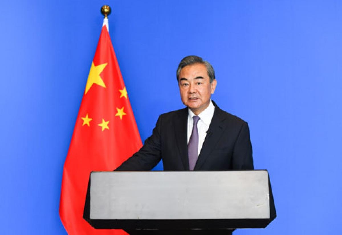 Ngoại trưởng Trung Quốc Vương Nghị. Nguồn BNG Trung Quốc