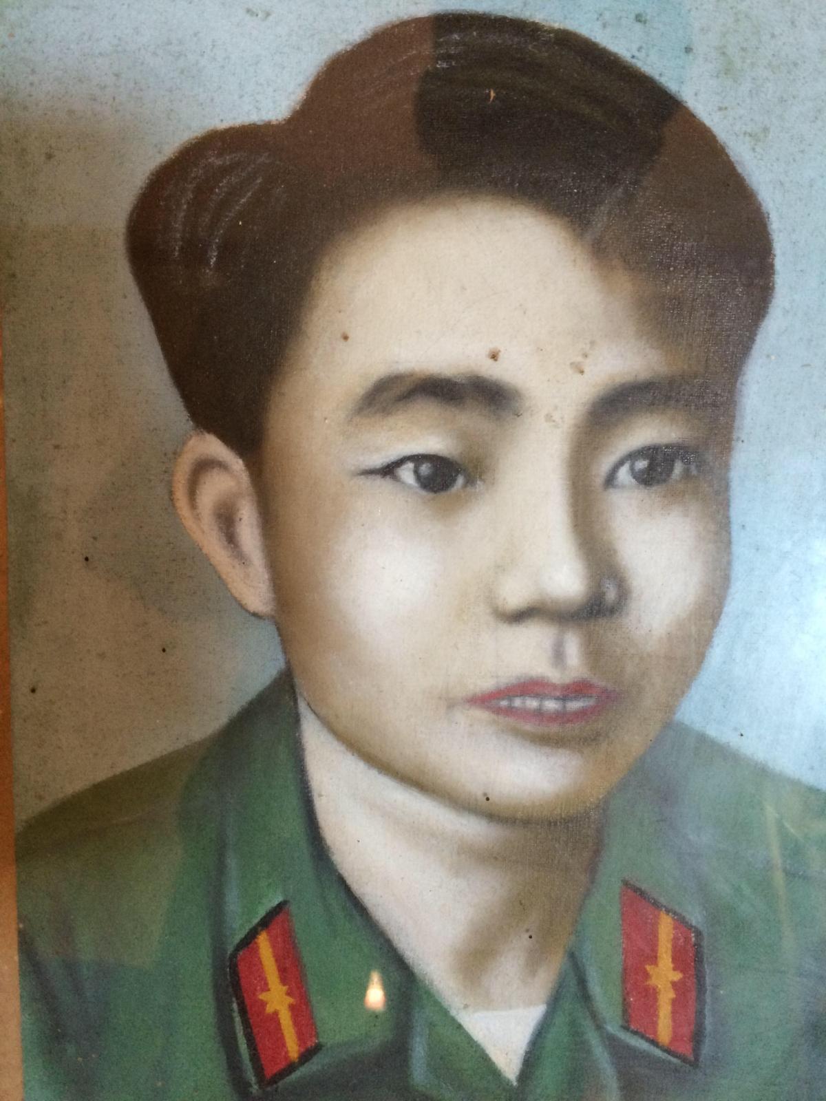 Chân dung liệt sỹ Đỗ Đình Biểu.