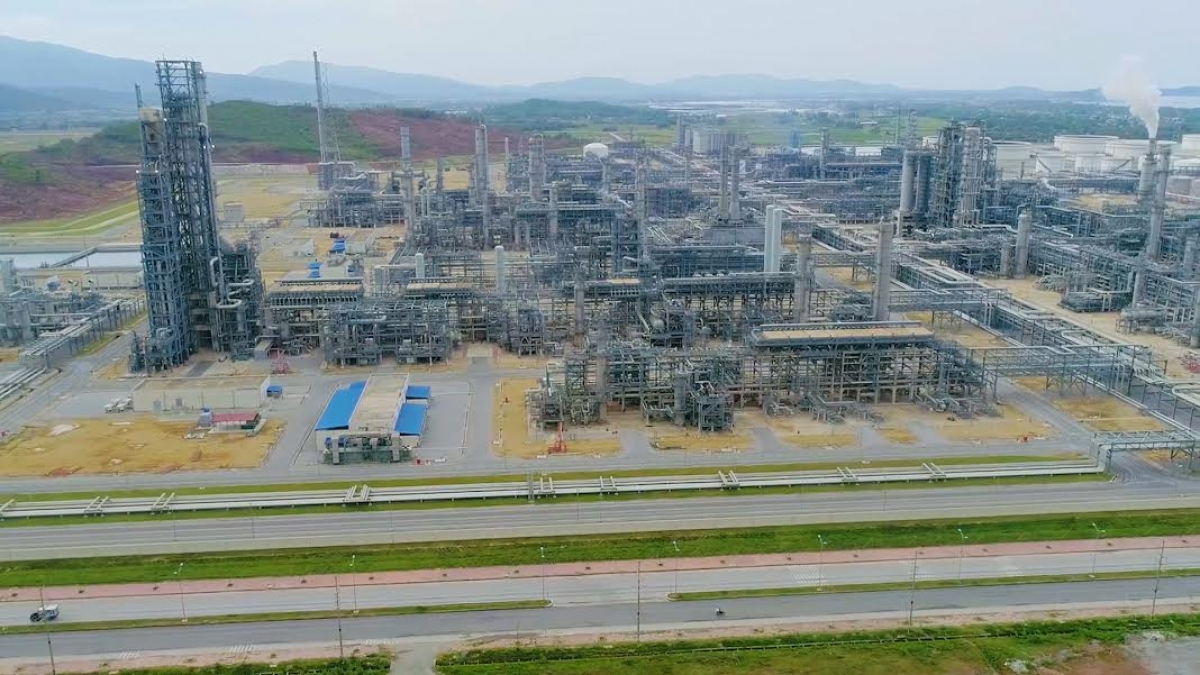 Dự án Lọc hóa dầu Nghi Sơn.