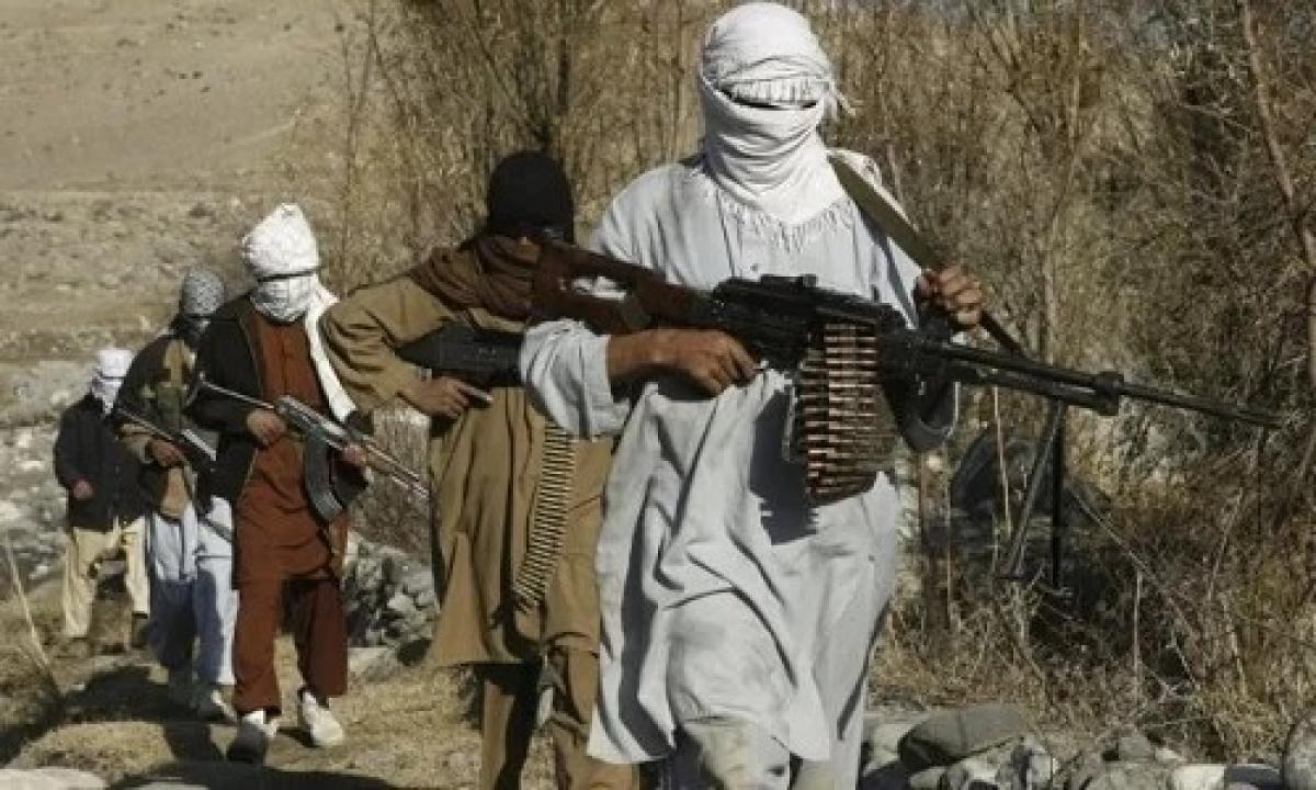 Lực lượng Taliban ở Afghanistan. Ảnh: Reuters.