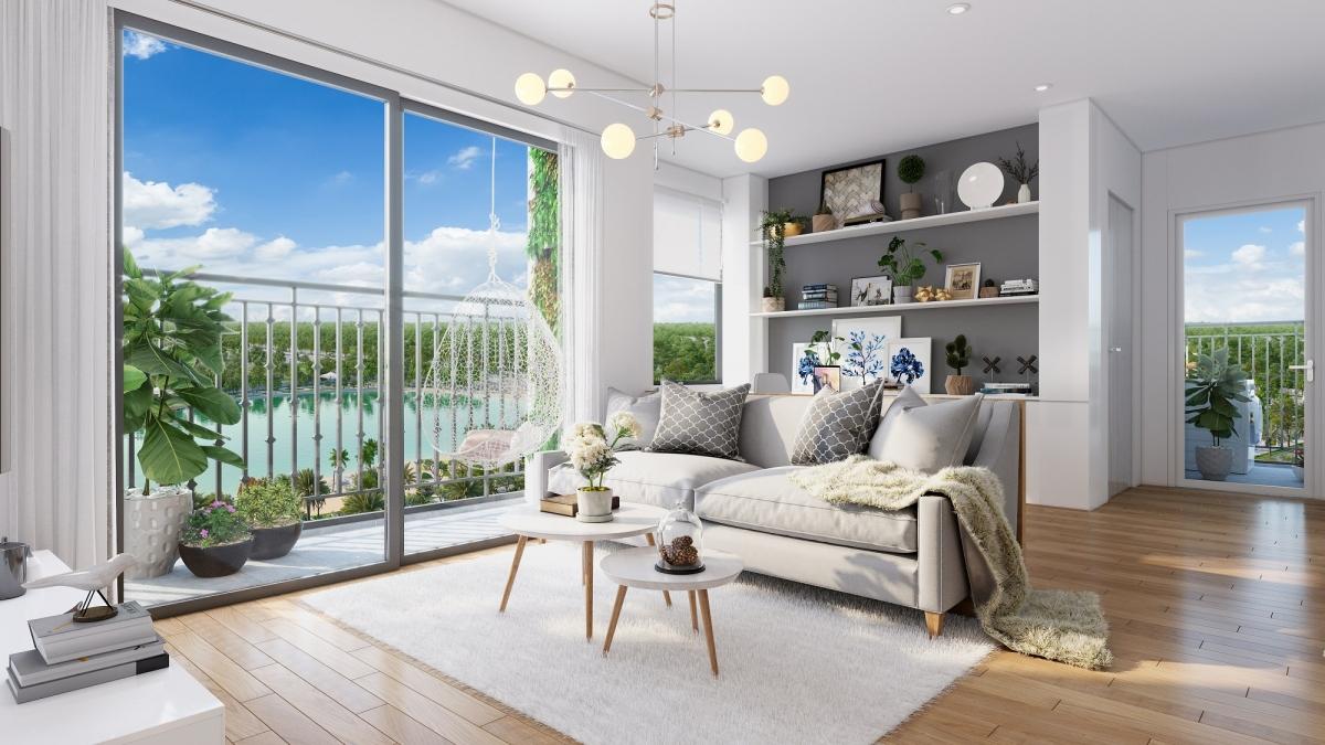 Các căn hộ chung cư thiết kế hiện đại, linh hoạt phù hợp với đa dạng nhu cầu khách hàng.
