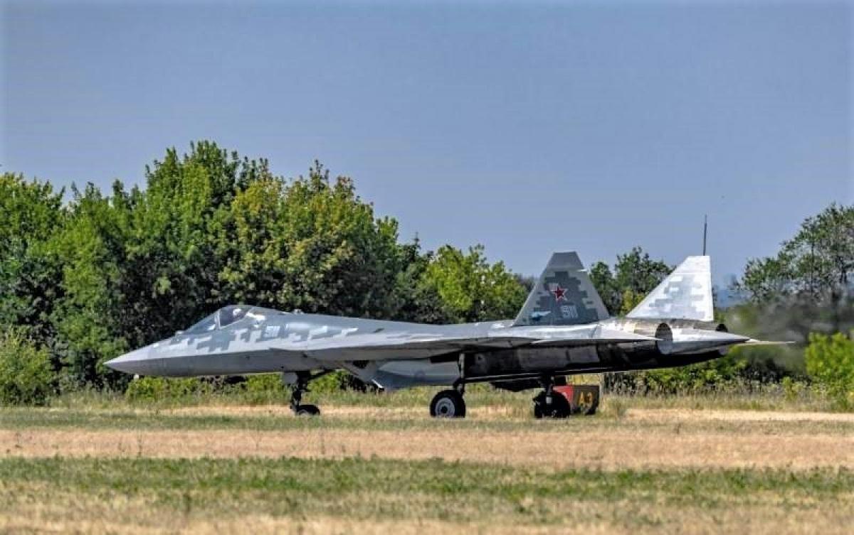 Tiêm kích Su-LTS của Nga đang là tâm điểm của MAKC-21 và các phương tiện truyền thông. Nguồn: topwar.ru