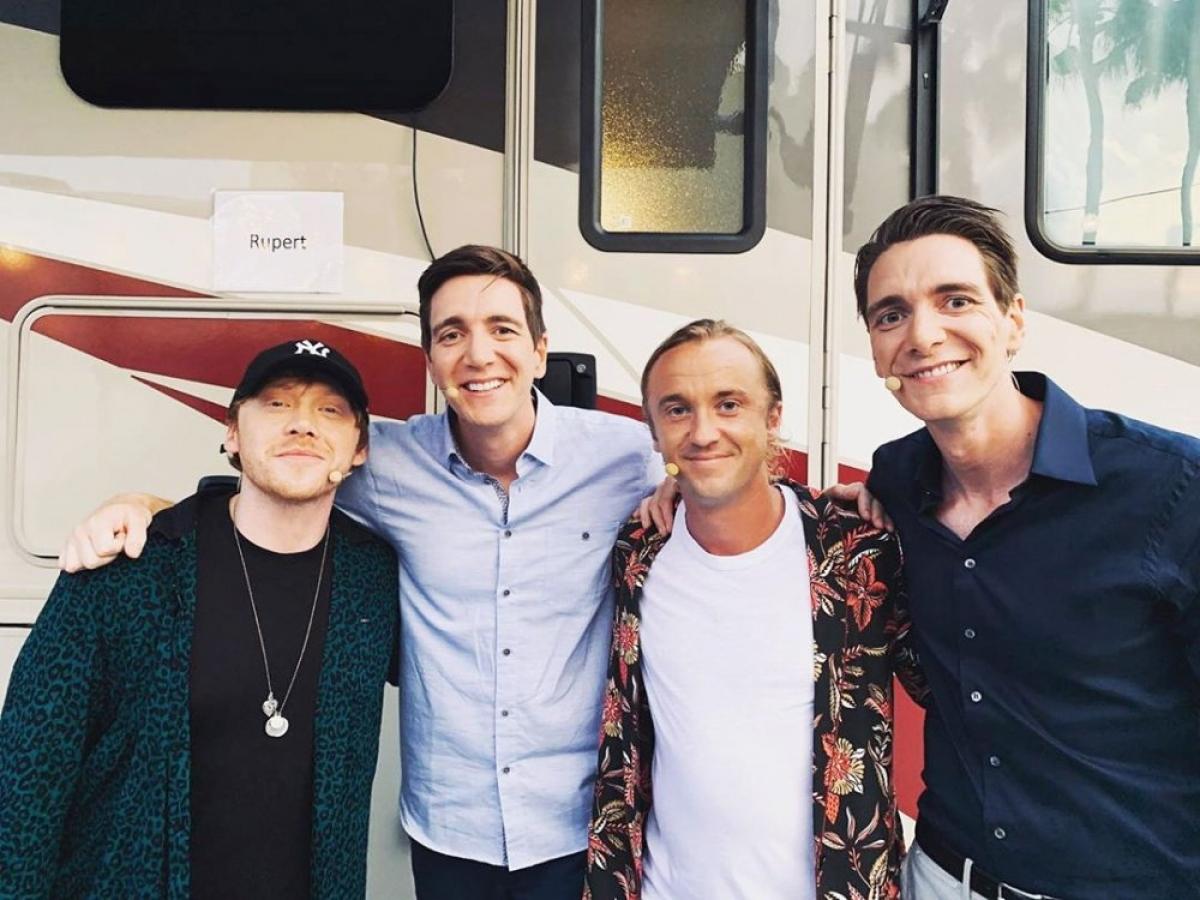 Tháng 6/2019, tại Universal Studios ở Orlando, Florida, Felton đã tạo dáng chụp ảnh với các bạn diễn của mình, bao gồm Grint, James và Oliver Phelps.