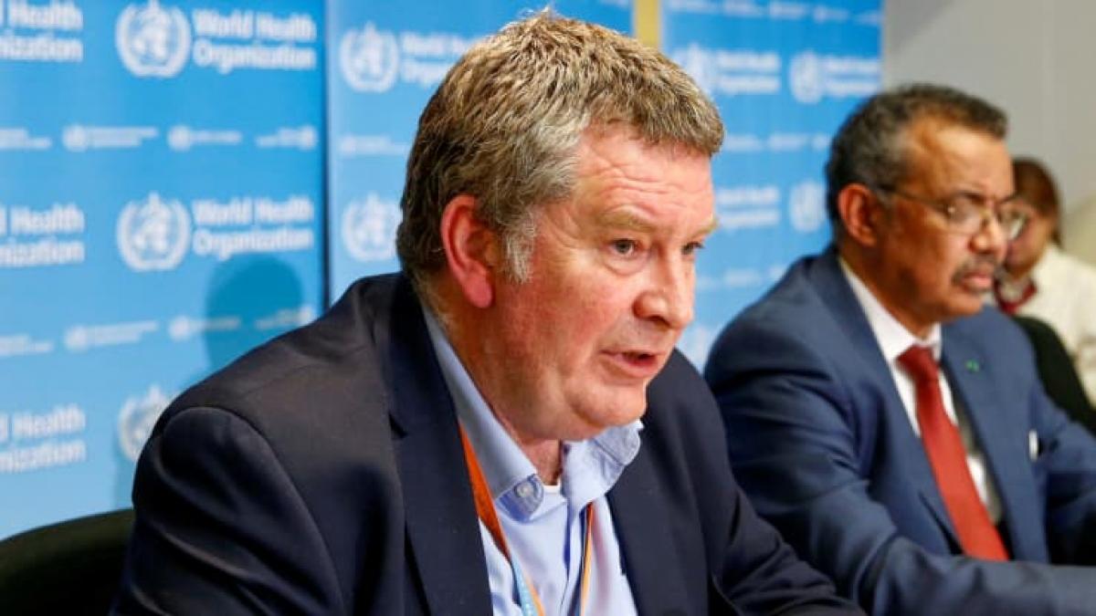 Mike Ryan - Giám đốc điều hành chương trình y tế khẩn cấp của WHO.Ảnh: Reuters