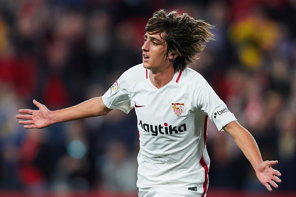 10. Tiền đạo Bryan Gil | Tây Ban Nha | Sevilla | Định giá chuyển nhượng: 30 triệu Euro
