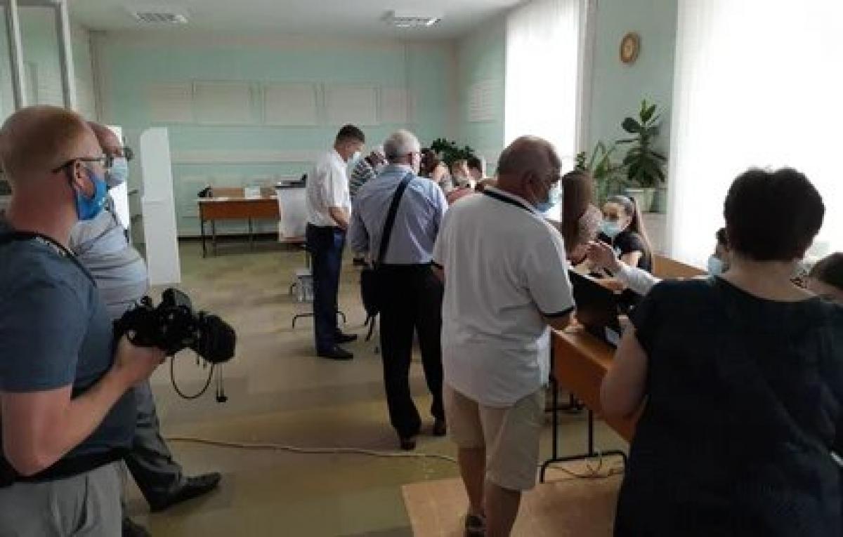 Bầu cử quốc hội tại Moldova. (Nguồn: Tass)