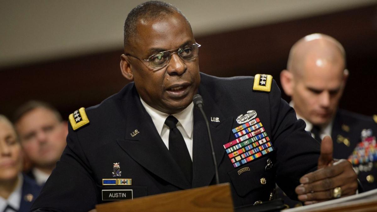 Bộ trưởng Quốc phòng Mỹ - Lloyd Austin. (Ảnh: Getty Images)
