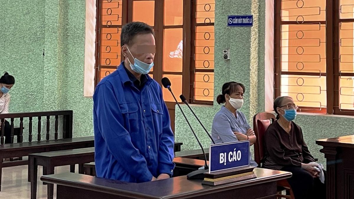 Bị cáo Triệu Thanh Đại tại phiên tòa.