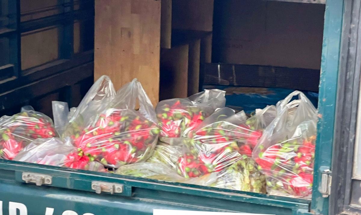 ... đồng thời trực tiếp việc thực hiện huy động nhân lực, vật lực để chuyển tổng cộng 113 tấn rau củ quả tươi các loại từ Lâm Đồng về điểm tập trung tại TP.HCM.