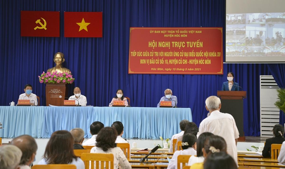 TP.HCM sẽ không tiếp xúc cử tri sau kỳ họp thứ nhất, Quốc hội khoá XV. (Ảnh minh họa: Hà An)