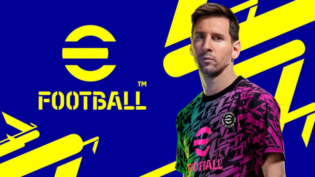 eFootball là tên mới của tựa game bóng đá PES nổi tiếng.