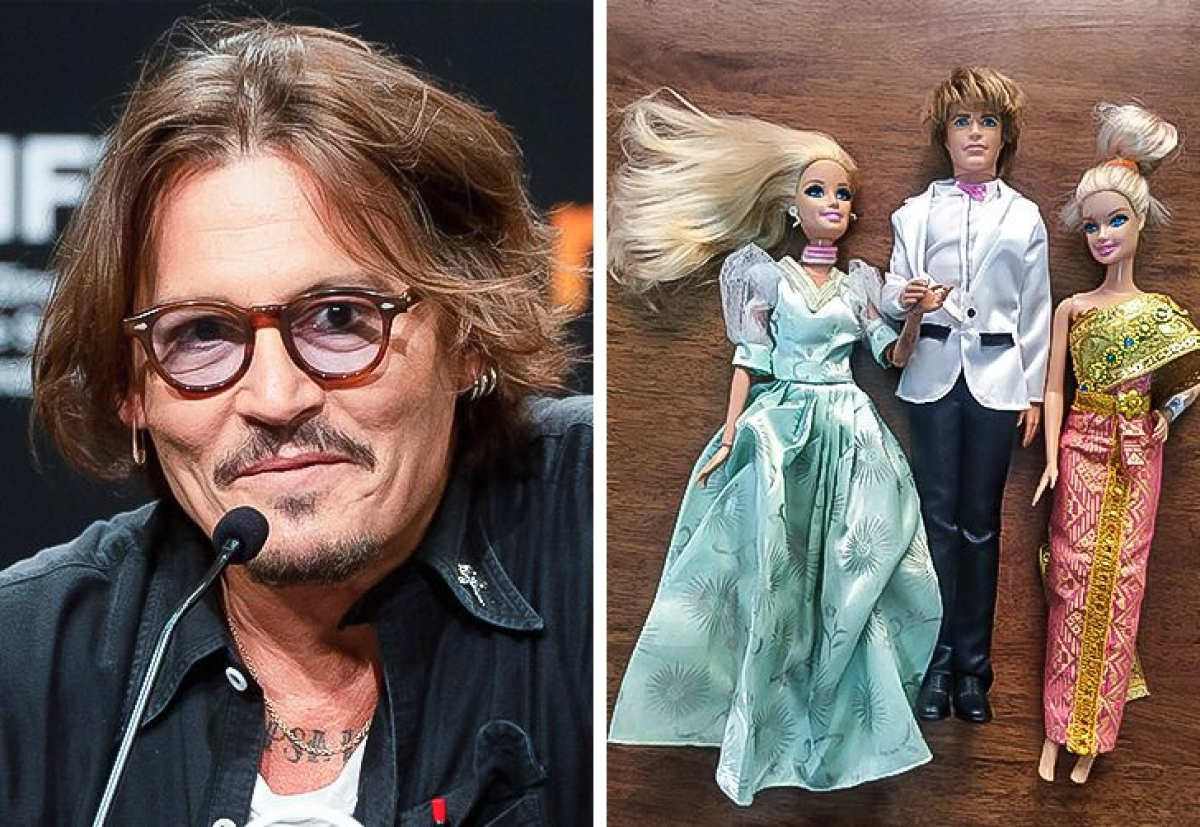 Johnny Depp - Bộ sưu tập búp bê Barbie:Sự quan tâm của Johnny bắt đầu khi anh ấy chơi búp bê Barbies với con gái của mình. Nhưng khi con gái không còn chơi búp bê nữa, Depp không muốn chia tay những con búp bê vì chúng là một phần tình cảm trong cuộc sống của anh ấy. Hiện tại, nam diễn viên có rất nhiều búp bê Barbies đến nỗi họ cần một phòng lưu trữ riêng.