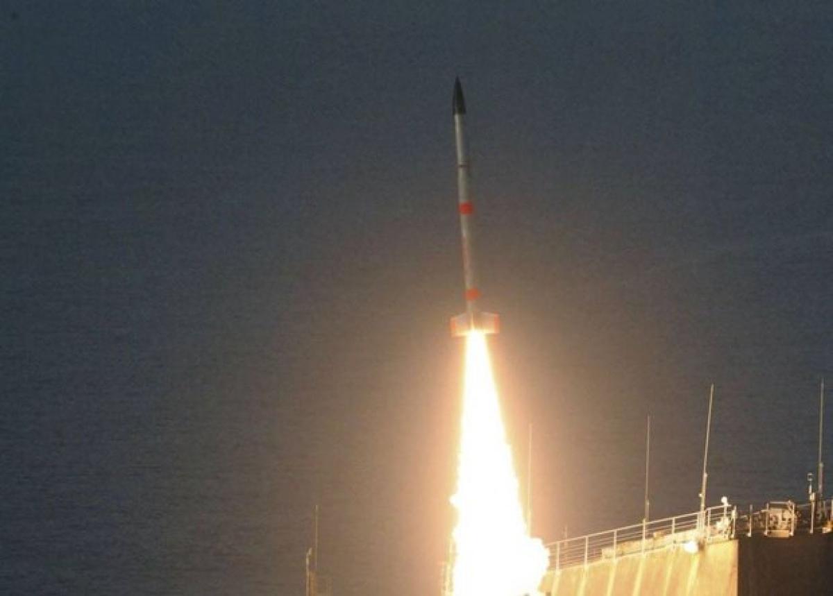 Phương tiện số 31 trong serie tên lửa S-520 rời Trung tâm Vũ trụ Uchinoura, sáng 27/7/2021 - (Nguồn: japantimes.co.jp)