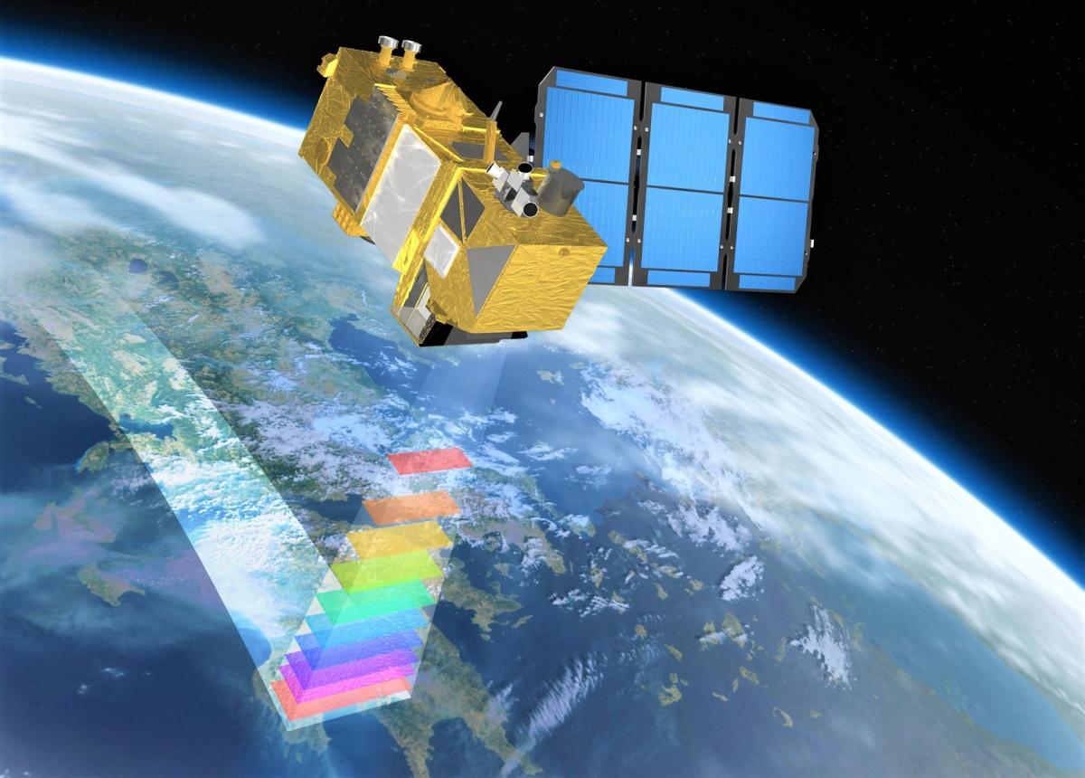 Hai vệ tinh khí tượng Châu Âu Sentinel-1 và Sentinel-2 được cho đã bị ảnh hưởng bởi các phương tiện tác chiến điện tử; Nguồn: topcor.ru