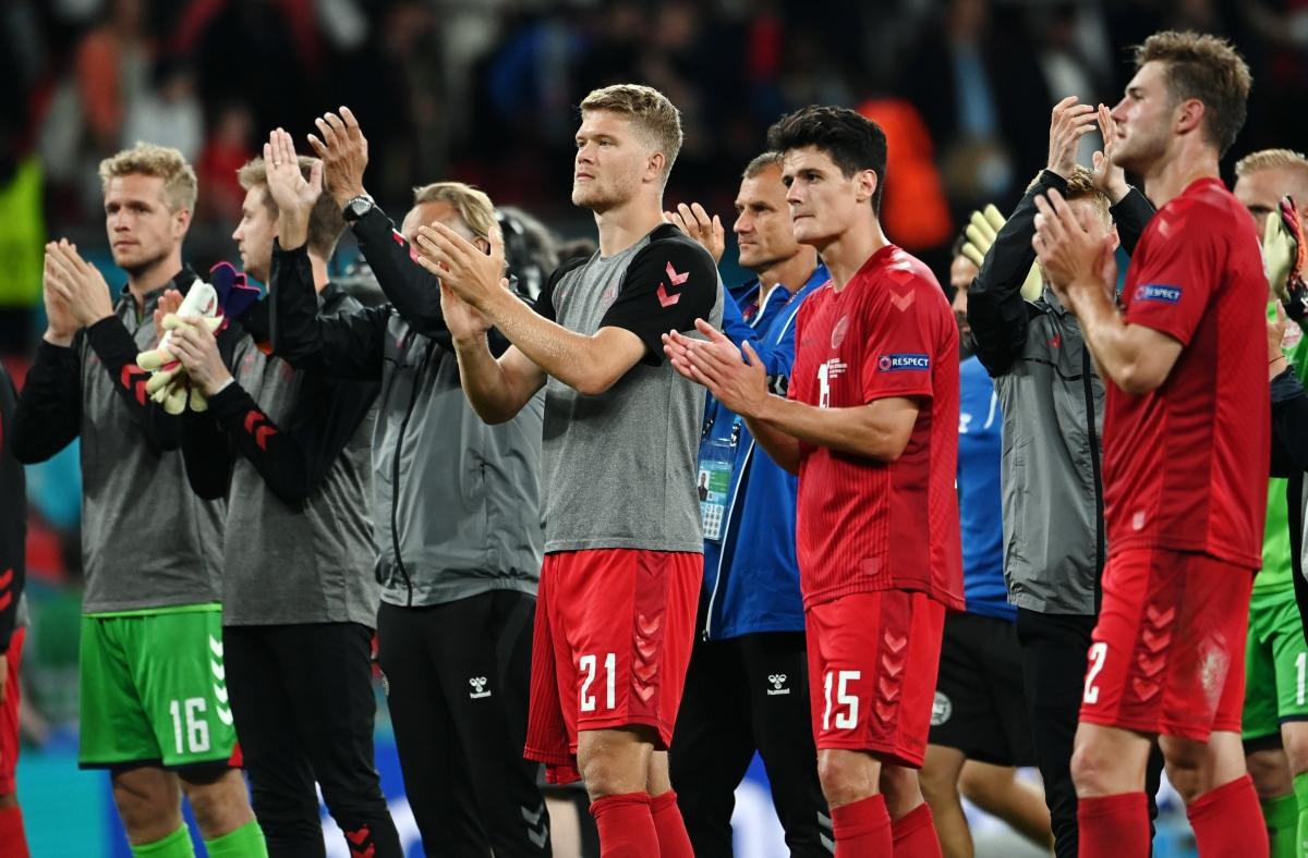 Hành trình kỳ diệu của Đan Mạch ở EURO 2021 kết thúc.