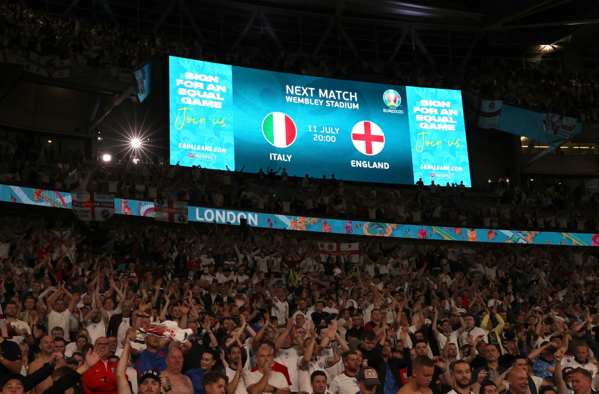 Anh và Italia sẽ tạo ra trận chung kết trong mơ của EURO 2021, diễn ra lúc 02h00 ngày 12/7 tới (giờ Việt Nam) trên sân Wembley.