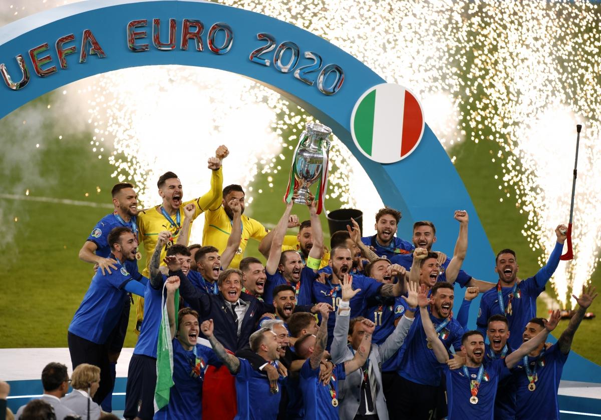 Italia vô địch EURO 2021.