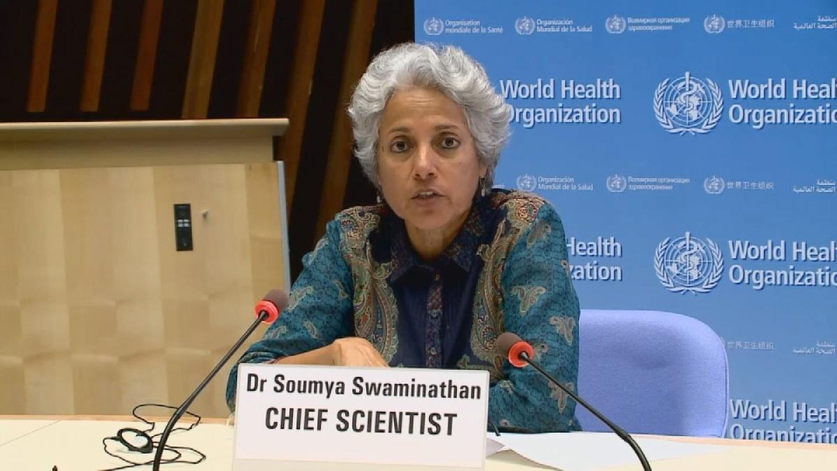 Bà Soumya Swaminathan. Nguồn: Reuters
