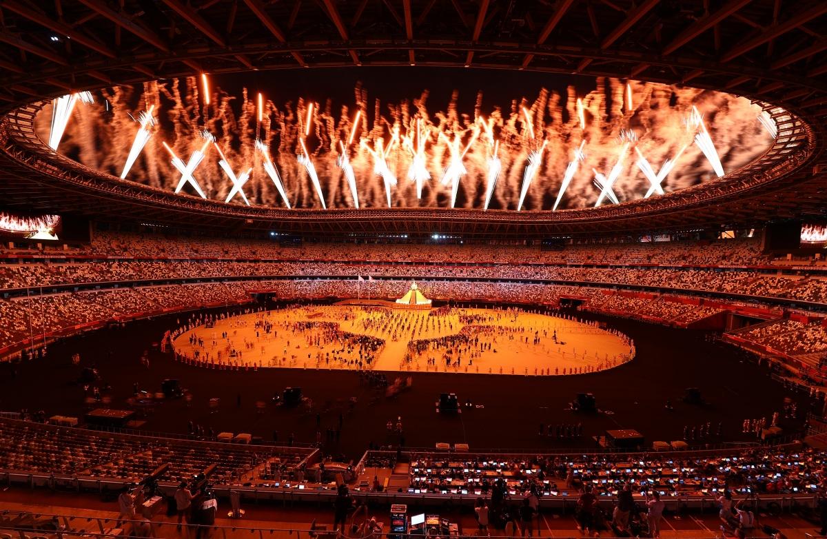 Olympic Tokyo 2020 chính thức khai mạc. (Ảnh: Reuters).