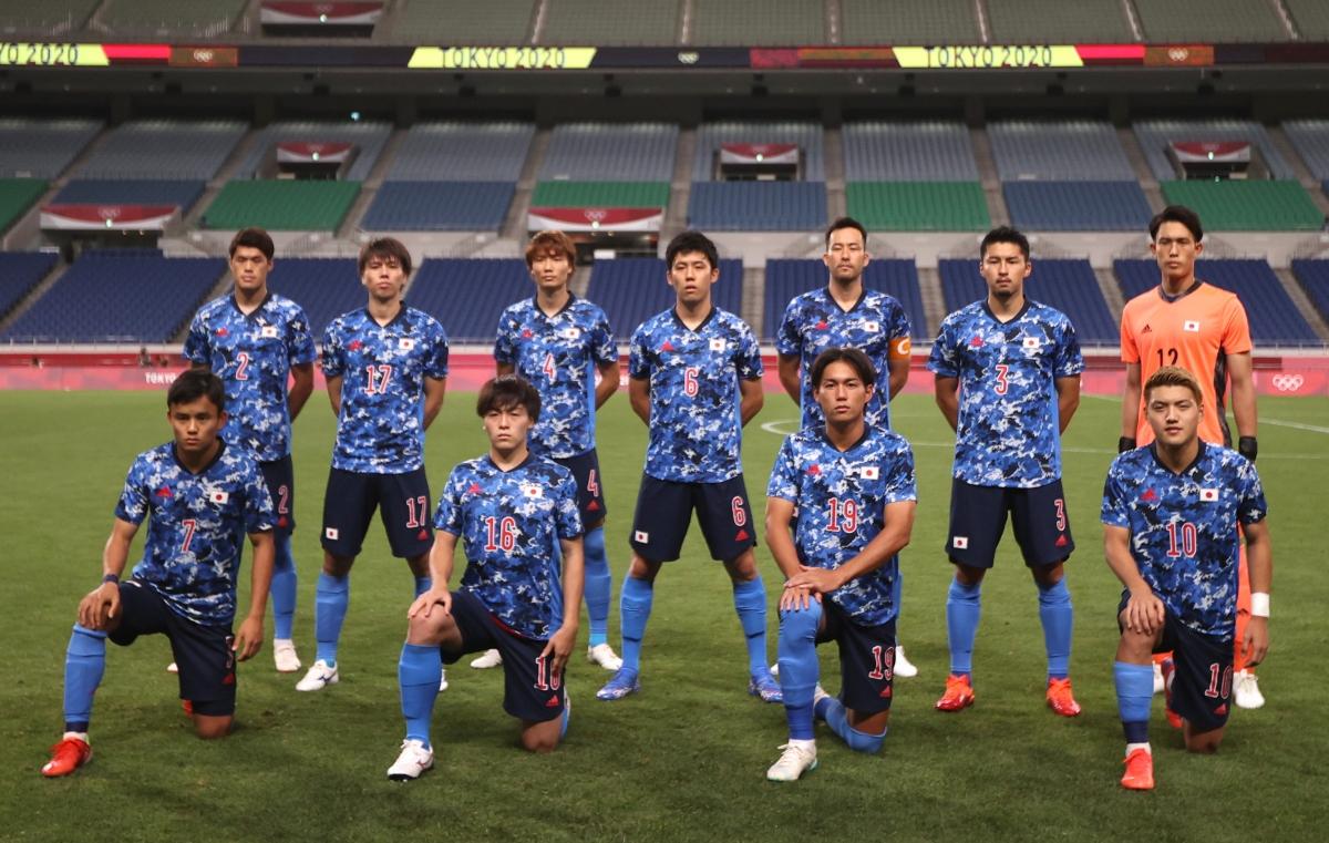 Đội hình xuất phát của Nhật Bản. (Ảnh: Reuters)