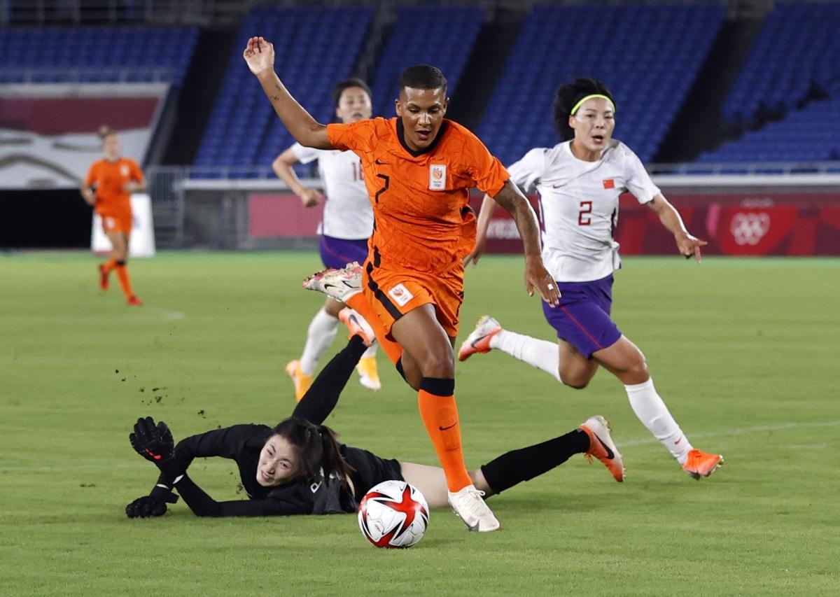 Hà Lan thắng Trung Quốc 8-2 và sẽ gặp Mỹ ở tứ kết. (Ảnh: Reuters)