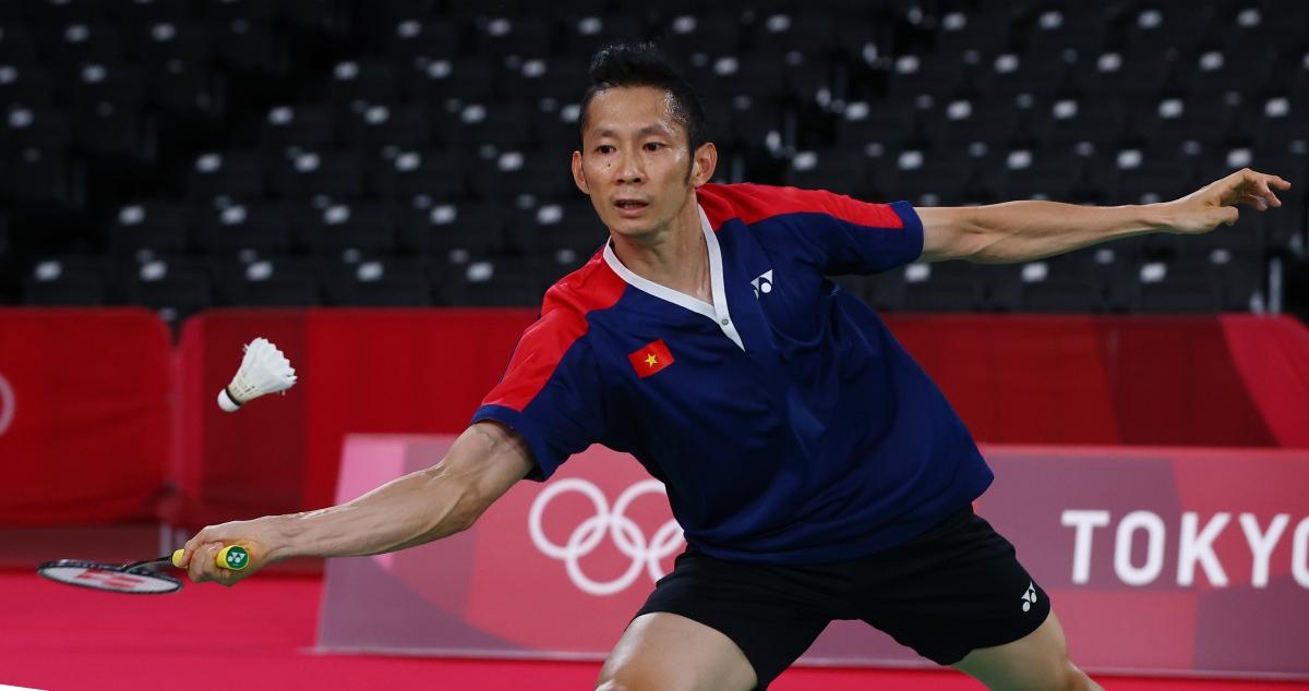 Tiến Minh chia tay Olympic Tokyo sau 2 trận thua. (Ảnh: Reuters)