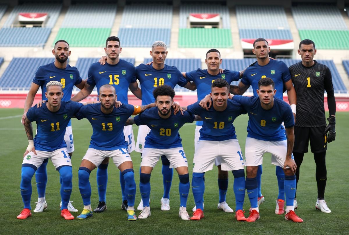 Đội hình ra sân của Brazil (Ảnh: Reuters).